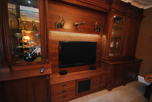 Modern TV Wall Units| Bespoke Living Room Furniture | Home Cinema