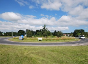 Langley Interiors sponsored roundabout