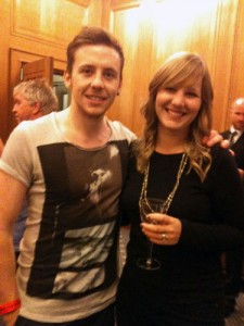 Gemma Stockberger from the Langley Interiors showroom meets Danny from McFly