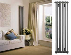 Anthracite finish radiator from Bisque.