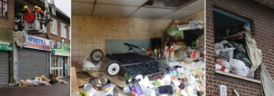 Clutter cn be very hazardous and can be solved with good storage
