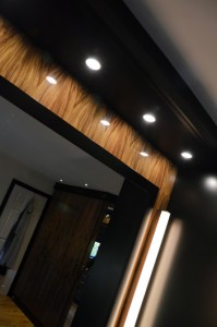 hand made furniture with built in lighting