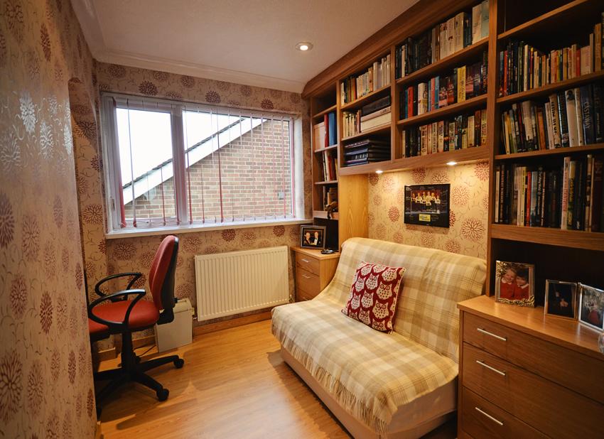 Bespoke snug bookcase